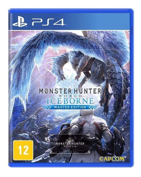 Jogo Monster Hunter World Iceborne Mídia Física - Ps4