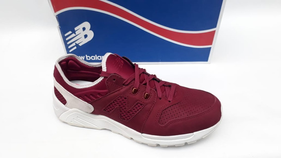 Tênis Nb Ml009scb New Bordô Sneaker 90 Original