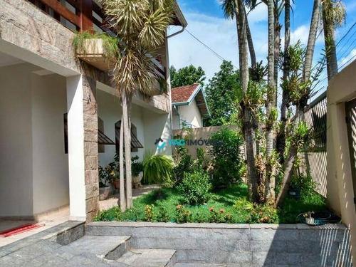 Casa Com 4 Dormitórios À Venda, 230 M² Por R$ 749.000,00 - Parque Jatibaia (sousas) - Campinas/sp - Ca0937
