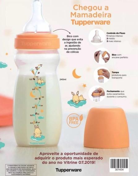 Tupperware Mamadeira 240ml Lançamento! Com Controle De Fluxo