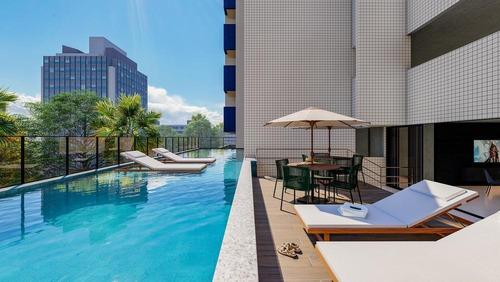 Imagem 1 de 24 de Edíficio Aquarius Com Apartamento De 1 Quarto E Sala Na Ponta Verde - Ap0012
