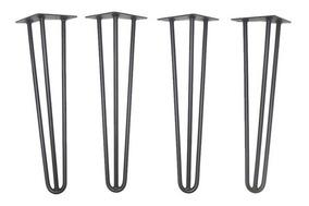 Pés De Ferro Estilo Industrial - Frete Grátis (4 Un.) 75cm