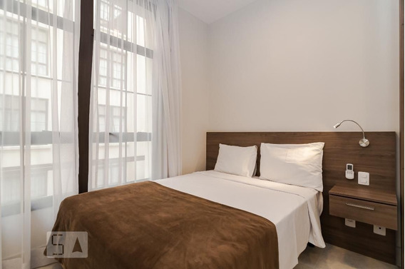 Studio No 2º Andar Mobiliado Com 1 Dormitório - Id: 892968366 - 268366