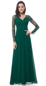Vestido Fiesta Burdeo Verde Blanco Talla 8 12 14 16 Ep 118
