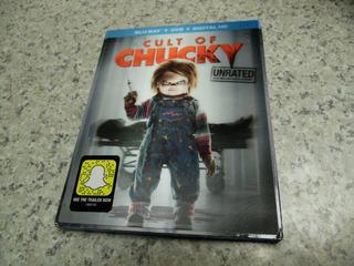 Blu-ray Cult Of Chucky Dvd, Ultraviolet Digita Hd Slipcover