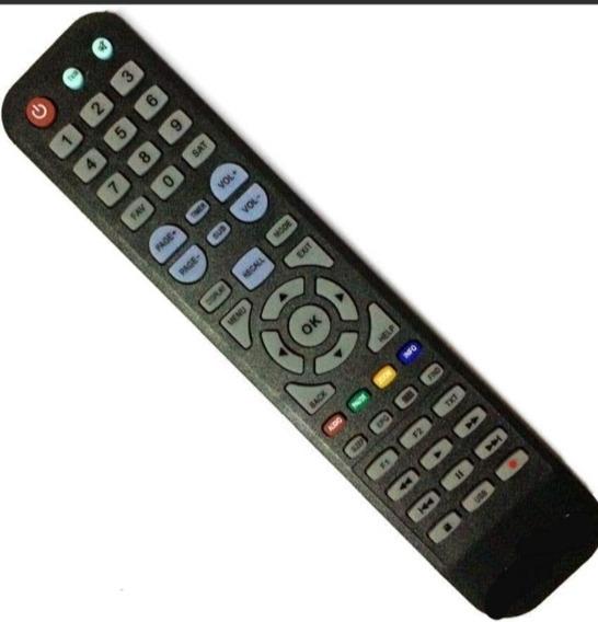 Controle Remoto S2010 Sky-8018 Hd