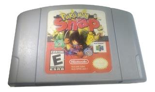 Pokémon Snap N64 Nintendo 64 Original Videojuegos Rock