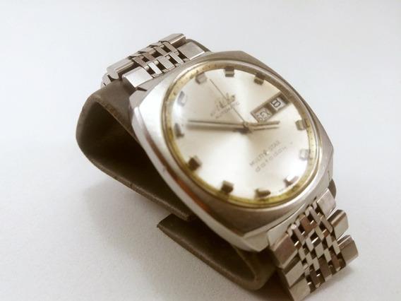 Relógio Suiço!! Reliquia!!marca Mido Inox