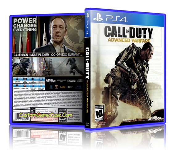 Call Of Duty Advanced Warfare Ps4 Novo Lacrado Mídia Física.