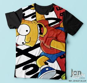 9fe96a678e Camisetas De Personagens Simpsons - Calçados, Roupas e Bolsas com o ...