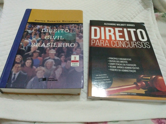 Livro Direito Civil Brasileiro Parte Geral E Para Concursos