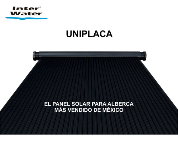 Panel Solar Para Alberca. Paquete De 3 Paneles Incluye Acces