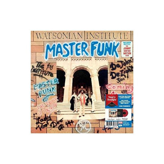 Watsonian Institute Master Funk-red Vinyl 2017 Lted Red Viny