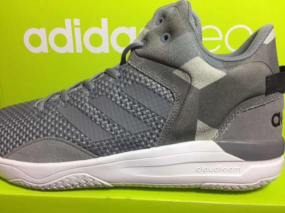 Tênis adidas Cloudfoam Revival Mid Original Cinza Masculino