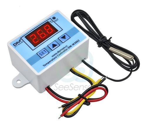 Imagen 1 de 9 de Termostato Controlador Sensor Temperatura Digital Incubadora