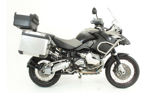 Bmw R 1200 Gs Adventure 2009 Cinza