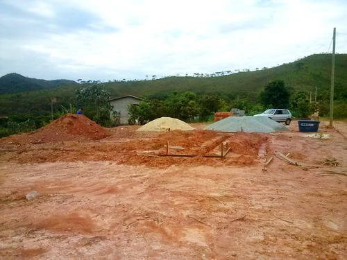 Imagem 1 de 10 de Vende Se Terreno Com 7.600 M² No Condomínio Quintas Da Serra Em Caeté-mg! - Mg - Te0003_de
