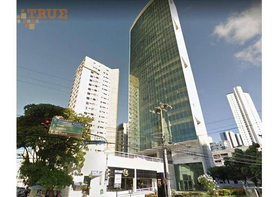 Sala Para Alugar, 65 M² - Boa Viagem - Recife/pe - Sa0180