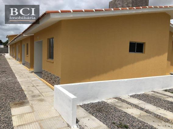 Casa 3 Quartos À Venda, 60 M² Por R$ 120.000 - Sítio Dos Marcos - Igarassu/pe - Ca1314