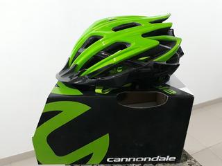 Capacete Cannondale Cypher Verde Adult S-m (52-58)