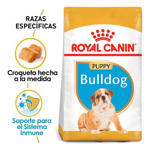 Imagen 1 de 4 de Alimento Para Perro Royal Canin Bulldog Puppy 13.6 Kg