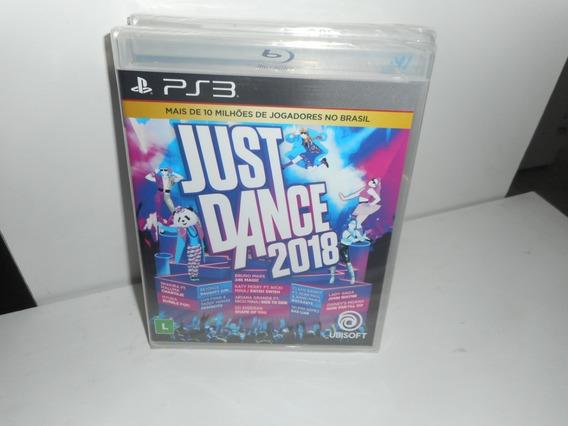 Just Dance 2018 Ps3 Mídia Física Novo Lacrado