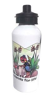 Botella De Aluminio 600 Cc Coyita Chic