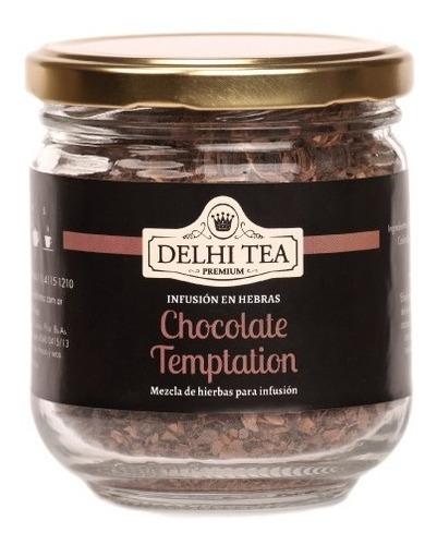 Te Hebras Delhi Tea Premium Frasco Chocolate Temptation