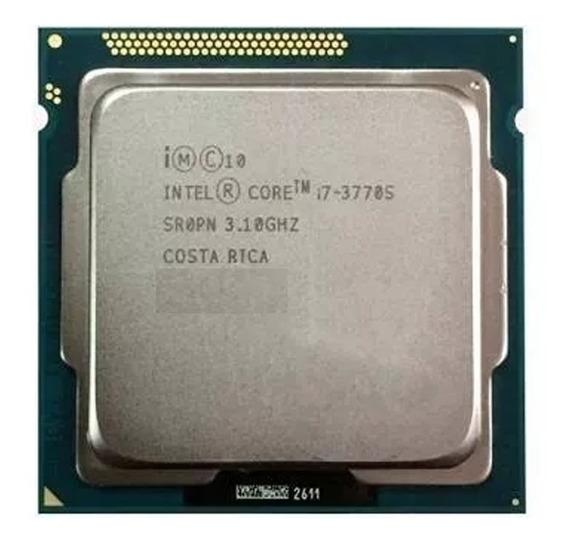 Processador Intel I7-3770s 3,1 Ghz + Cooler Heatpipe