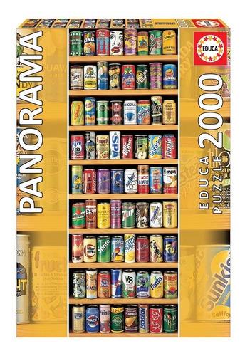 Puzzle Rompecabeza 2000 Pzas Lata Sobre Lata Panorama 11053