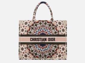 Bolsa Dior Book Bordada Lançamento 2019 - Pronta Entrega