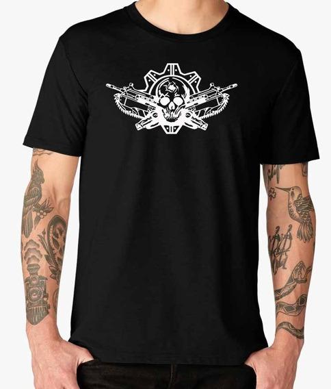 Hermosas Camisas Gears Of War Negras Para Hombre Originales