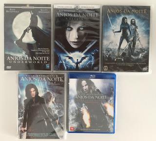 5 Filmes Coleção Anjos Da Noite Underworld Produto Original!