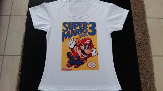 Playera Sublimada Mario Bross Mujer Unica Pieza Oferta