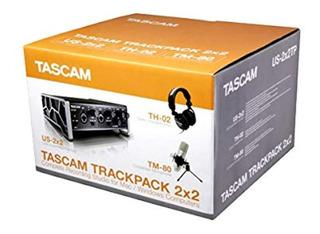 Tascam Paquete De Grabación Trackpack 2x2