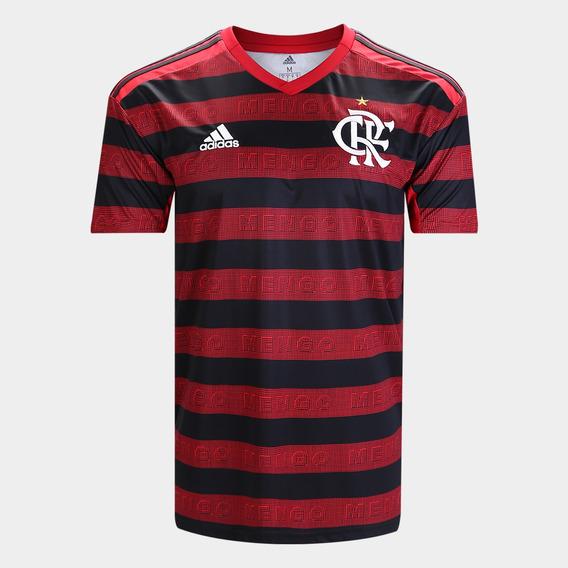 Camisa Flamengo I 2019 Original Personalizável Rafinha, Gabriel, Bruno Henrique, Felipe Luís, Arrascaeta