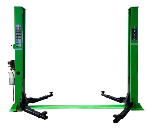 Elevador De Auto 2 Columnas Capacidad 4 Ton. Traba Manual