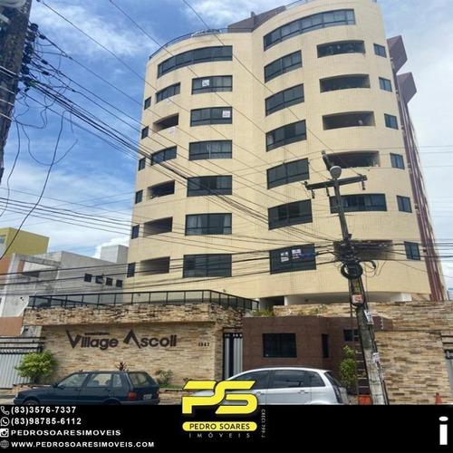 Imagem 1 de 27 de Apartamento Com 4 Dormitórios À Venda, 110 M² Por R$ 370.000 - Manaíra - João Pessoa/pb - Ap4828