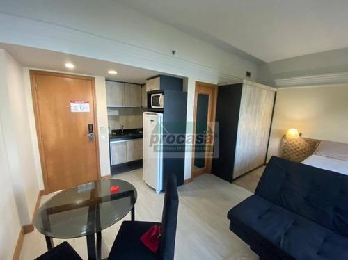 Imagem 1 de 18 de Flat Com 1 Dormitório À Venda, 33 M² Por R$ 255.000,00 - Ponta Negra - Manaus/am - Fl0104