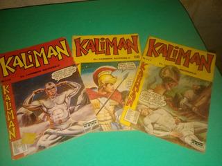 Cómics Kaliman El Hombre Increible Editora Cinco
