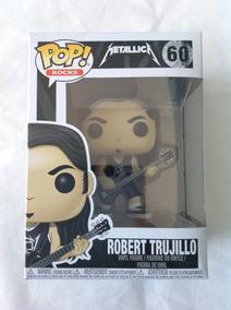Robert Trujillo - Metallica Funko Pop - Boneco Colecionavel