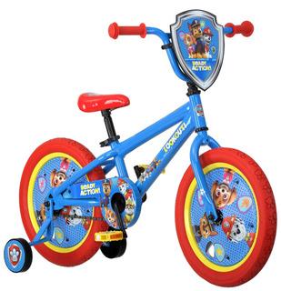 Nickelodeon 16 Pulgadas Paw Patrol All Character Bike