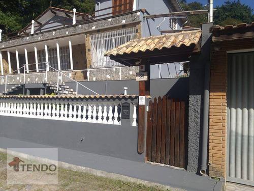 Imagem 1 de 22 de Imob03 - Casa 156 M² - Venda - 3 Dormitórios - Pastoril - Ribeirão Pires/sp - Ca0734