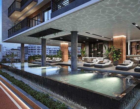 Residencial C/ Lobby Estilo Hotel,area Social De 900mts,naco