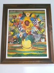 Quadro Pintado A Mão Artista: Alberto Da Veiga Guignard Téc