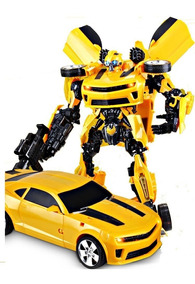 Transformers Carro Robo Bumblebee Grande 42cm Brinquedo