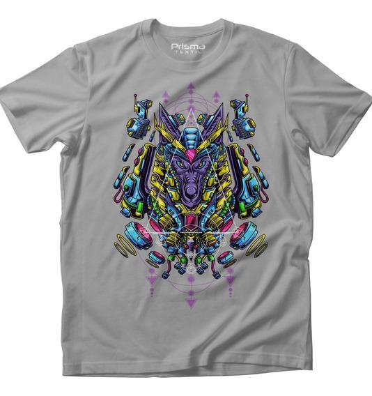 Mandala Anubis Dios De La Muerte Playera Hombre Mujer