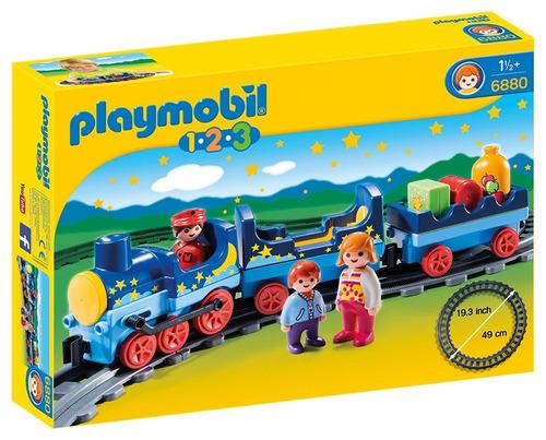 Playmobil 6880 Linea 1 2 3. Tren Con Vías