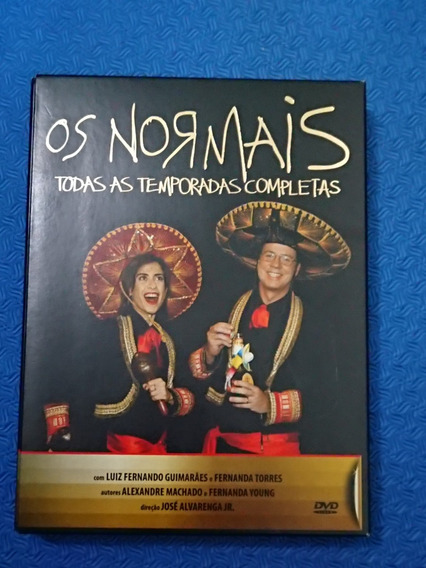 Dvd Os Normais Todas As Temporadas