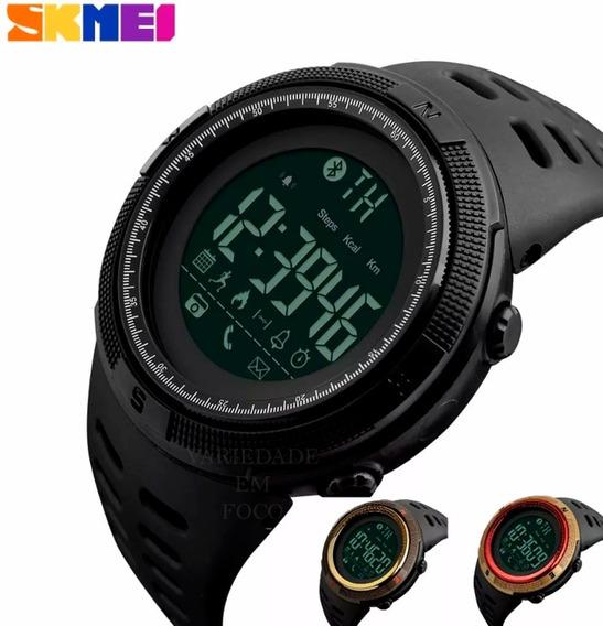 Relogio Skmei 1250 Pedômetro Bluetooth Prova D´ Água